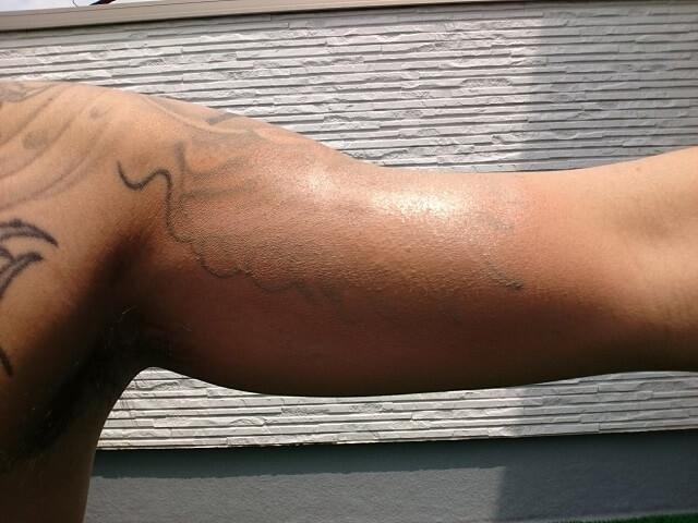 タトゥー隠すカクシス腕の刺青オリジナル検証と結果
