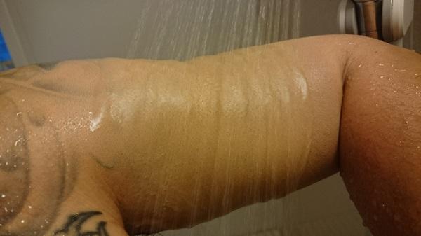 タトゥー隠す方法手順カクシス防水