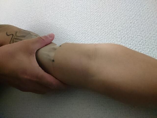 ンキホーテタトゥー隠しシール10テスト