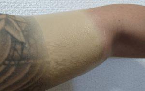 肌かくしーとレビュータトゥー刺青隠す