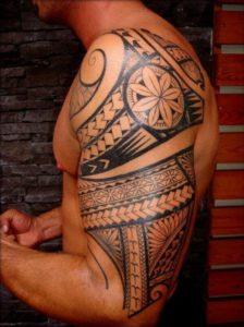 民族タトゥー海外