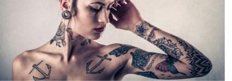 サラリーマンのタトゥーの隠し方