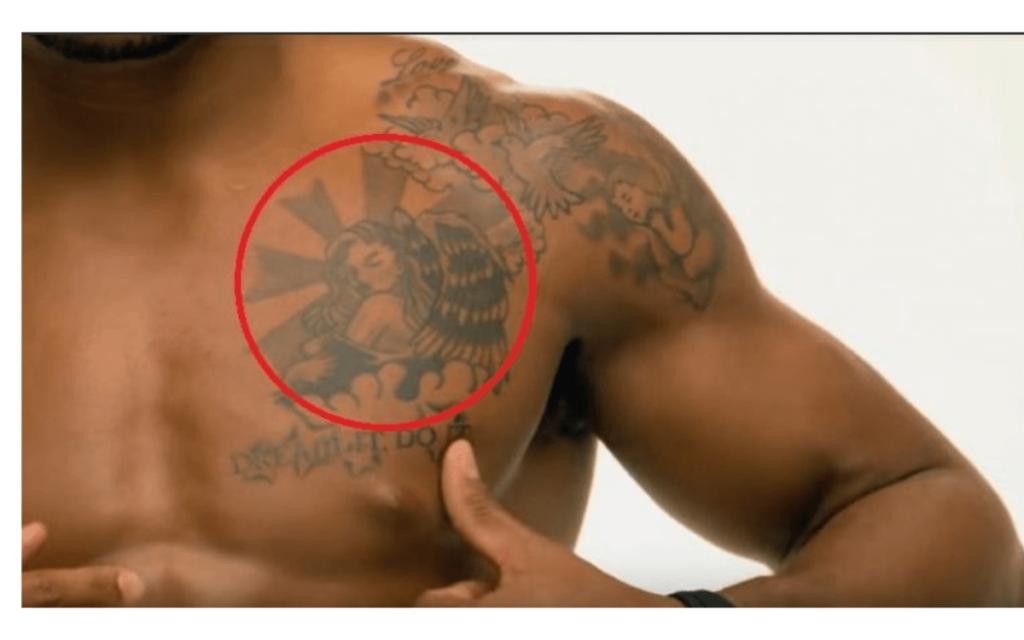 ジョーダンバローズのタトゥー